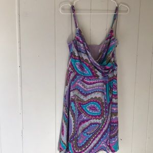 TRINA TURK size 8 multi colored dress